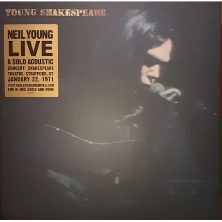 Neil Young - Young Shakespeare Live - LP Vinyl Album - Folk Rock Music