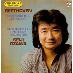 "Seiji Ozawa – Symphonie No. 3 ""Héroïque"" - Beethoven - LP Vinyl Album - Musique Classique"