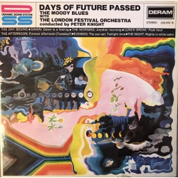 The Moody Blues - Days Of Future Passed - LP Vinyl Album - Psychedelic Rock