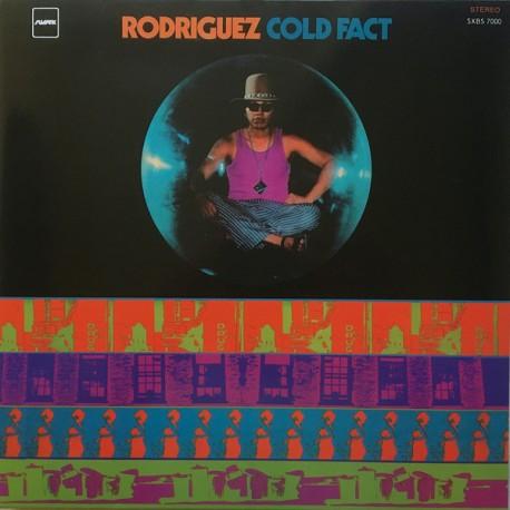 Rodriguez – Cold Fact - LP Vinyl Album Black Cover - Psychedelic Rock