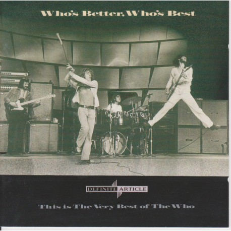 The Who - Who's Better, Who's Best - CD Album - Rock Music
