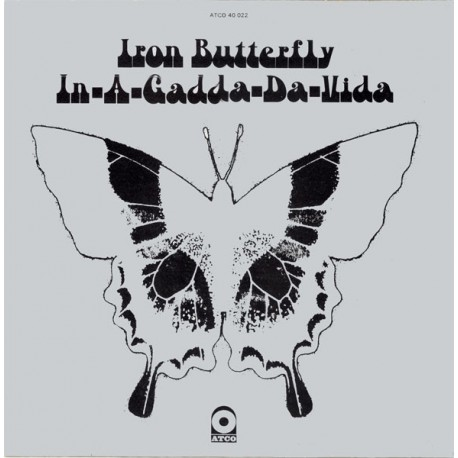 Iron Butterfly ‎- In-A-Gadda-Da-Vida - LP Vinyl Album - Psychedelic Rock