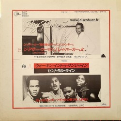 Ray Parker Jr - Central Line - The Other Woman - Walking Into Sunshine - Vinyl Japan Promo