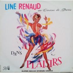 Line Renaud - Au Casino De Paris Dans Plaisirs - LP Vinyl Album - Chanson Française