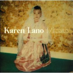 Karen Lano - Muses - CD Album Promo - Variété Française Folk