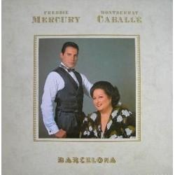 Freddie Mercury ( Queen ) & Montserrat Caballé - Barcelona - LP Vinyl Album - Classical Vocal