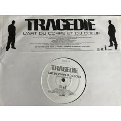 Tragédie - L'Art Du Corps Et Du Coeur - Maxi Vinyl 12 inches Promo - RnB Francese
