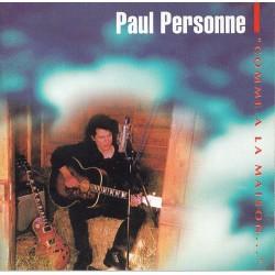 Paul Personne - Comme A La Maison... - CD Album - Blues Rock