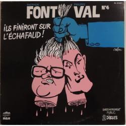 Patrick Font - Philippe Val - N°4 - Ils Finiront Sur L'Echafaud! - Double LP Vinyl Album - Chanson Française