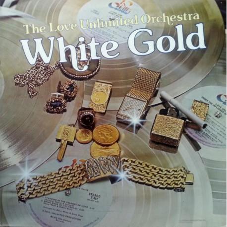 Love Unlimited Orchestra (Barry White) - White Gold - LP Vinyl Album - Disco Music
