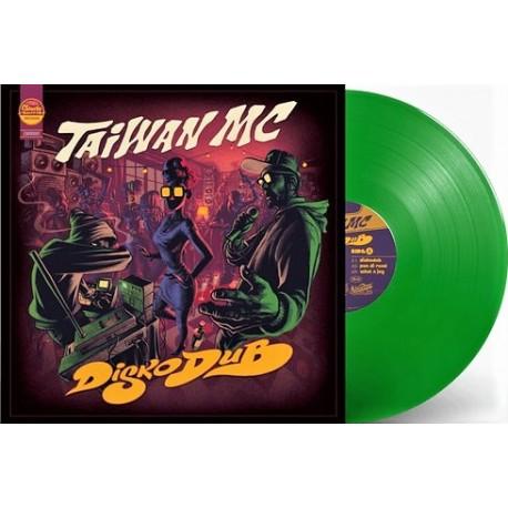 Taiwan MC - DiskoDub - Maxi Vinyl 12 inches - Coloured Edition - Electro Reggae Dub