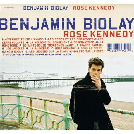 Benjamin Biolay - Rose Kennedy - Double LP Vinyl Coloured Blue - Chanson Française