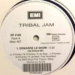 Tribal Jam - Démarre Le Show - Maxi Vinyl 12 inches Promo Version - RnB Français