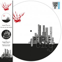 AIR - People In The City - Maxi 12 inches - Picture Disc - Disquaire Day - RSD 2021
