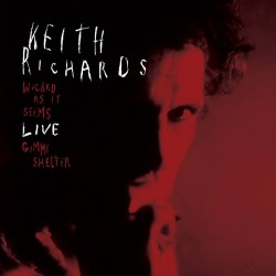 Keith Richards - Wicked As It Seems Live - Vinyl 7 inches - RSD 2021 - Blues Rock - Disquaire Day