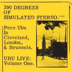 Pere Ubu - 390 of Simulated Stereo V.21C - LP Vinyl Album - RSD 2021 - Punk - Disquaire Day