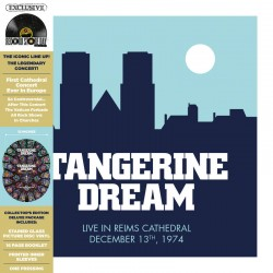 Tangerine Dream - Live At The Reims Cathedral  - RSD 2021 - Double LP Vinyl Album - Ambient Electronic - Disquaire Day
