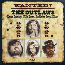 Waylon Jennings, Willie Nelson, Jessi Colter, Tompall Glaser ‎– Wanted! The Outlaws - LP Vinyl