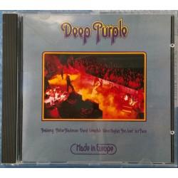 Deep Purple - Made In Europe - Hard Rock - CD Album