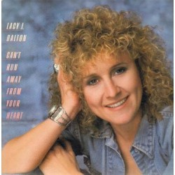 Lacy J. Dalton ‎– Can't Run Away From Your Heart - LP Vinyl
