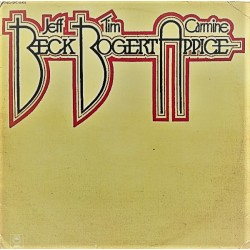 Jeff Beck, Tim Bogert & Carmine Appice - LP Vinyl Album - Jazz Rock
