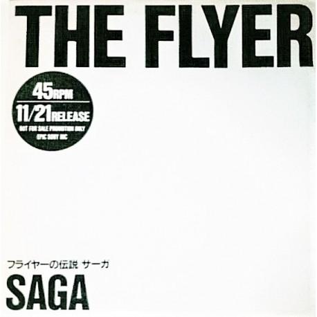 Saga - Stanley Clarke & George Duke - The Flyer - Heroes - Maxi Vinyl 12 inches - Promo Japan - Jazz Rock Progressive