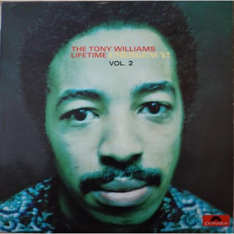 The Tony Williams Lifetime - Emergency! Volume Two - LP Vinyl Album - Jazz Rock Fusion
