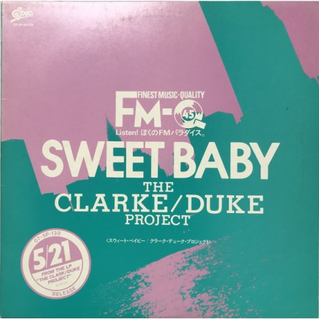 The Clarke/Duke Project, REO Speedwagon - Sweet Baby / Take It On The Run - Maxi Vinyl 12 inches - Jazz Rock