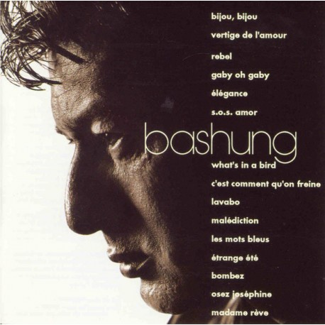 Alain Bashung - CD Album - Compilation - French Songs