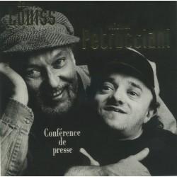 Eddy Louiss & Michel Petrucciani - Conférence De Presse - Jazz