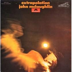 John McLaughlin - Extrapolation - LP Vinyl Album -Contemporary Jazz