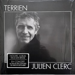 Julien Clerc - Terrien - LP Vinyl Album - Chanson Française