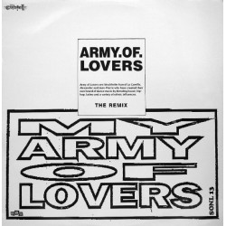 Army Of Lovers - My Army Of Lovers - The Remix - Maxi Vinyl 12 inches - Euro House Dance