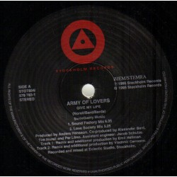 Army Of Lovers - Give My Life - Maxi 12 inches - Euro House Dance Pop