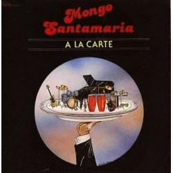 Mongo Santamaria - A La Carte - LP Vinyl Album - Afro Cuban Latin Music