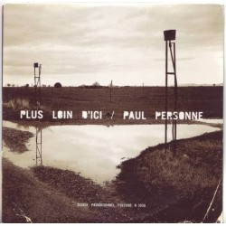 Paul Personne - Plus Loin d'Ici - CD Single Promo