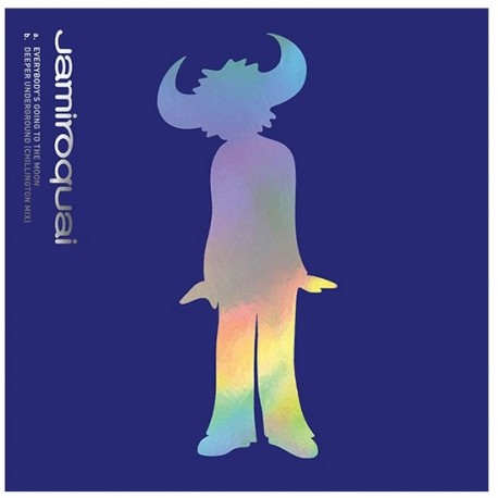 Jamiroquai - Everybody's Going to the Moon - Maxi Vinyl 12 inches - Pop Funk - Record Store Day 2021