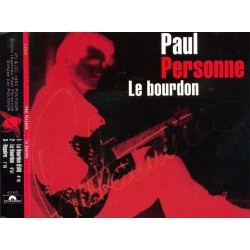 Paul Personne - Le Bourdon - CD Maxi Single Promo