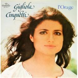 Gigliola Cinquetti - L'Orage - LP Vinyl Album - Chanson Italienne Pop