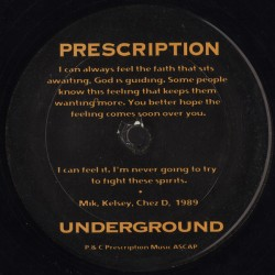 Ron Trent - Joshua - Abacus - Chez Damier - The Foot Therapy EP - Maxi 12 inches - USA Prescription - Deep House