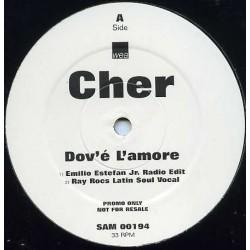 Cher - Dov'é L'amore - Maxi Vinyl 12 inches - Promo - Latino House Music