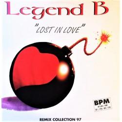 Legend B - Lost In Love (Remix Collection 97) - Maxi Vinyl 12 inches - Promo - Techno Hard Trance