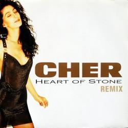 Cher - Heart Of Stone (Remix) - Maxi Vinyl 12 inches - Pop Music