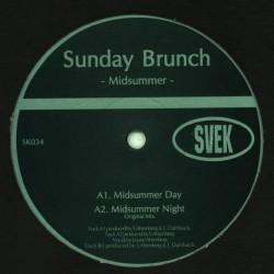 Sunday Brunch - Midsummer - Maxi Vinyl 12 inches - Deep House Music