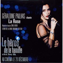 Géraldine Pailhas - La Rose - Musique de Film - CD Single Promo