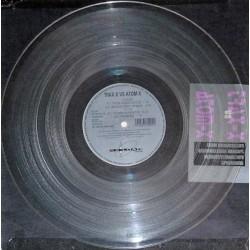 Trax-X vs Atom-X - From Deinococcus - Maxi Vinyl 12 inches - Limited Clear - Techno Acid