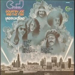 Country Joe And The Fish - C.J. Fish - LP Vinyl Album  France 1970 - Folk Rock Music