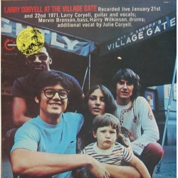 Larry Coryell - At The Village Gate - LP Vinyl Album - France 1971 - Jazz Fusion