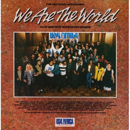USA For Africa - We Are The World - LP Vinyl Album 1985 - Pop Rock Music