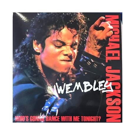 Michael Jackson - Live Wembley Part 1 & 2 - LP Vinyl Album - Coloured Blue - Pop Funk Soul